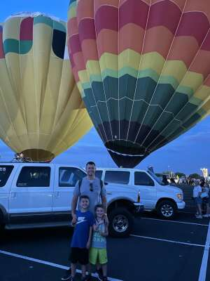 AZRocky attended Arizona Balloon Classic on Apr 30th 2021 via VetTix