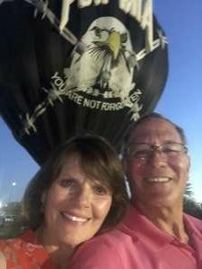 Chris attended Arizona Balloon Classic on Apr 30th 2021 via VetTix