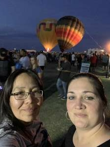 Leslie Charley attended Arizona Balloon Classic on Apr 30th 2021 via VetTix