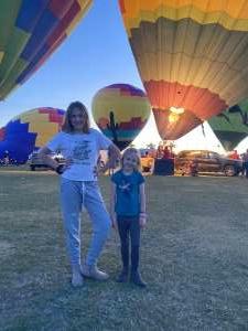 jslyons attended Arizona Balloon Classic on Apr 30th 2021 via VetTix