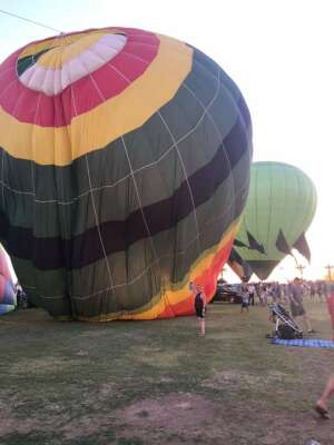 Lindsay attended Arizona Balloon Classic on Apr 30th 2021 via VetTix