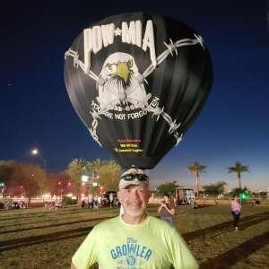 Ron attended Arizona Balloon Classic on Apr 30th 2021 via VetTix