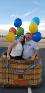 Frankie attended Arizona Balloon Classic on Apr 30th 2021 via VetTix