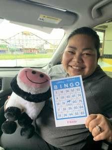 Carol attended Washington State Fair 2021 - Spring Fair Carload Admission - Bingo Experience on Apr 7th 2021 via VetTix