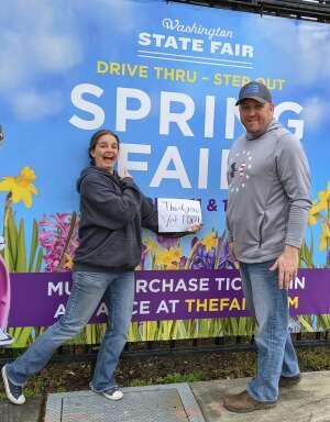 JJ attended Washington State Fair 2021 - Spring Fair Carload Admission - Bingo Experience on Apr 7th 2021 via VetTix