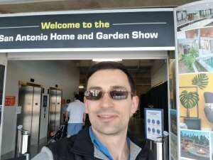 Andrey S attended San Antonio Home and Garden Show on Apr 16th 2021 via VetTix