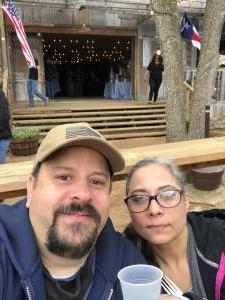 Carlos attended Fredericksburg Margarita Festival on Apr 3rd 2021 via VetTix