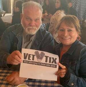 Susan attended Fredericksburg Margarita Festival on Apr 3rd 2021 via VetTix