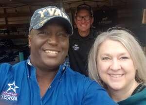 Marques attended Fredericksburg Margarita Festival on Apr 3rd 2021 via VetTix