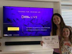 Krystin attended National Geographic Live - Mysterious Seas on Mar 30th 2021 via VetTix