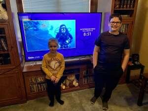 Johnathon Mccauley attended National Geographic Live - Mysterious Seas on Mar 30th 2021 via VetTix