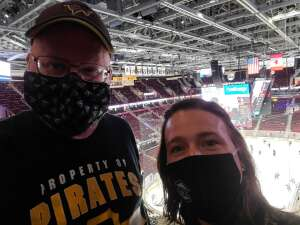 Todd Maxwell attended Cleveland Monsters vs. Texas Stars - AHL on Mar 28th 2021 via VetTix