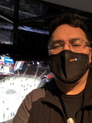 A.J. Muniz attended Cleveland Monsters vs. Texas Stars - AHL on Mar 28th 2021 via VetTix