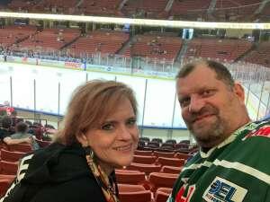 Stacy  attended Swamp Rabbits vs. Jacksonville Icemen - ECHL on Mar 28th 2021 via VetTix