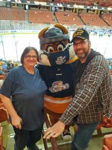 Bob attended Swamp Rabbits vs. Jacksonville Icemen - ECHL on Mar 28th 2021 via VetTix