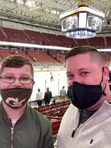 Patrick  attended Swamp Rabbits vs. Jacksonville Icemen - ECHL on Mar 28th 2021 via VetTix