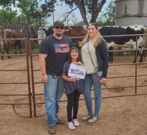 Destini Willis and Family attended Fredericksburg Longhorn Roundup & Steak Fest on May 15th 2021 via VetTix