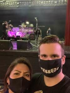 Janice attended Ultimate Bon Jovi and Animal Magnetism Live at the Marquee Theatre on Mar 30th 2021 via VetTix