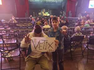 Aero Light attended Ultimate Bon Jovi and Animal Magnetism Live at the Marquee Theatre on Mar 30th 2021 via VetTix