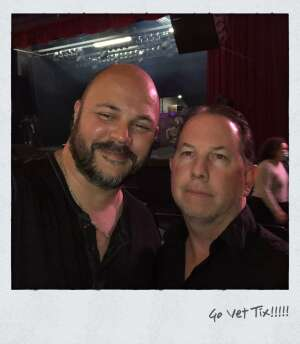Tom attended Ultimate Bon Jovi and Animal Magnetism Live at the Marquee Theatre on Mar 30th 2021 via VetTix