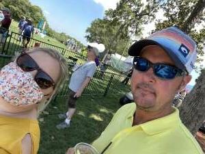 Tamara attended 2021 Valspar Championship - PGA on Apr 30th 2021 via VetTix