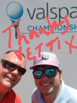 Dennis Smith  attended 2021 Valspar Championship - PGA on Apr 30th 2021 via VetTix
