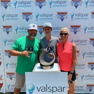 Darren attended 2021 Valspar Championship - PGA on Apr 30th 2021 via VetTix