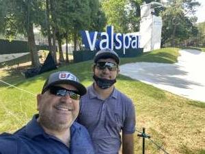 Nelson attended 2021 Valspar Championship - PGA on Apr 30th 2021 via VetTix