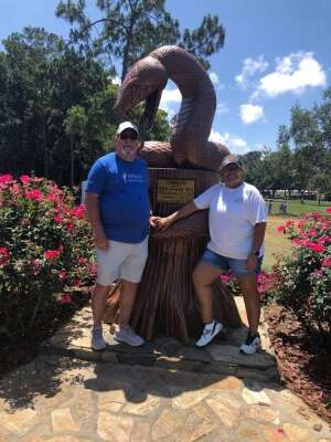 Mike attended 2021 Valspar Championship - PGA on May 1st 2021 via VetTix