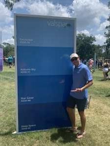 Ken attended 2021 Valspar Championship - PGA on May 1st 2021 via VetTix