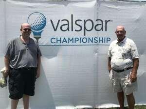 Raven Brown attended 2021 Valspar Championship - PGA on May 1st 2021 via VetTix