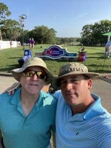 Joseph Vadder attended 2021 Valspar Championship - PGA on May 1st 2021 via VetTix
