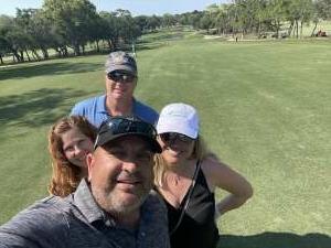 Nelson attended 2021 Valspar Championship - PGA on May 1st 2021 via VetTix
