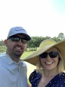 Mike attended 2021 Valspar Championship - PGA on May 1st 2021 via VetTix