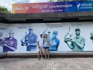 Brock attended 2021 Valspar Championship - PGA on May 2nd 2021 via VetTix