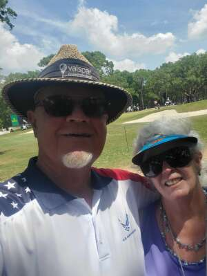 Dave attended 2021 Valspar Championship - PGA on May 2nd 2021 via VetTix