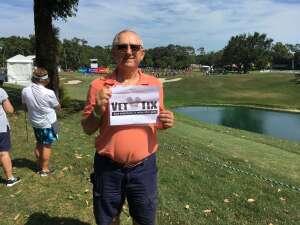 Vito attended 2021 Valspar Championship - PGA on May 2nd 2021 via VetTix