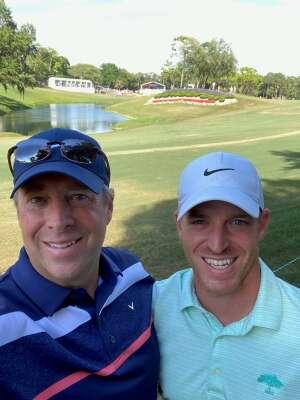 Tony attended 2021 Valspar Championship - PGA on May 2nd 2021 via VetTix