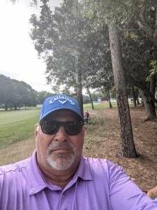 Ed attended 2021 Valspar Championship - PGA on May 2nd 2021 via VetTix
