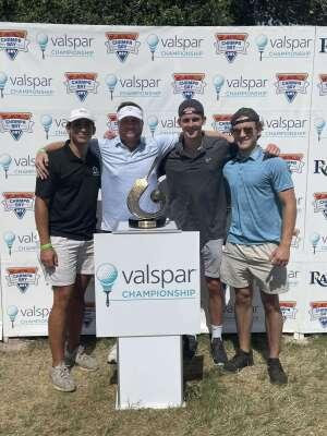 Joe B. attended 2021 Valspar Championship - PGA on May 2nd 2021 via VetTix