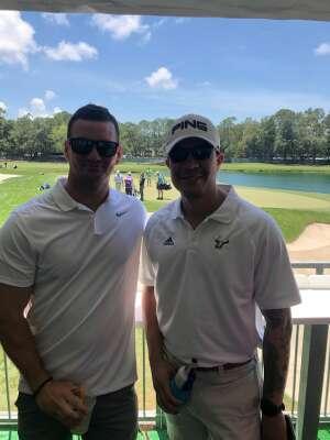 Darren attended 2021 Valspar Championship - PGA on May 2nd 2021 via VetTix