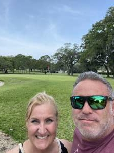 Chip attended 2021 Valspar Championship - PGA on Apr 29th 2021 via VetTix