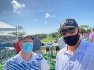 Brandon B attended 2021 Valspar Championship - PGA on Apr 29th 2021 via VetTix