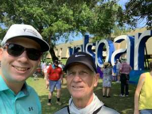 JOHN attended 2021 Valspar Championship - PGA on Apr 29th 2021 via VetTix