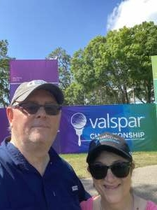 Patrick Gaines attended 2021 Valspar Championship - PGA on Apr 29th 2021 via VetTix