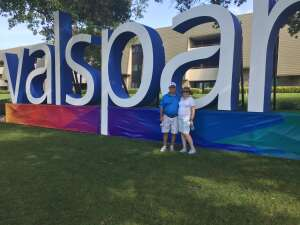 Bob attended 2021 Valspar Championship - PGA on Apr 29th 2021 via VetTix
