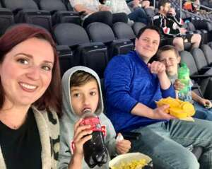 Vic & Cathie Borden attended Kansas City Mavericks vs. Tulsa Oilers - ECHL on May 21st 2021 via VetTix