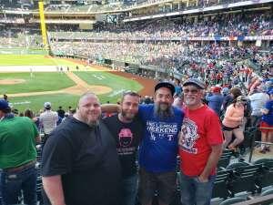 Shawn attended Texas Rangers vs. Toronto Blue Jays - MLB on Apr 7th 2021 via VetTix