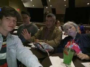 Richard attended Michael Yo - Family Show on Apr 1st 2021 via VetTix
