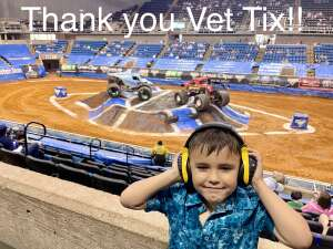 Joseluis attended Monster Jam on May 2nd 2021 via VetTix